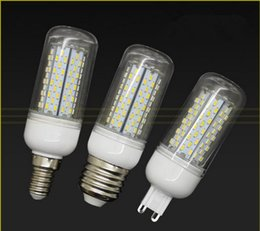 E27 E26 GU10 B22 E14 G9 12W LED Lamp 85-265V 3014 120 led Corn Bulb white  warm white light With Cover LED Chandelier Bulbs 2 Years Warranty