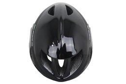 Wholesale Cheap Size M L CM Road MTB TT Bike Helmet EPS PC Sheel Adult AERO Bicycle Helmet Without Sticker Stock Black Color