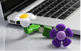 Wholesale 2016 Novelty Mini Aroma USB Scent Flower Diffuser Air Purifier USB fresher Air Purifier Freshener Humidifier Without Oil E471L