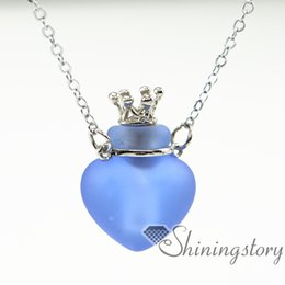 heart essential oil diffuser necklace wholesale essential jewelry essential oil pendants necklace diffusers small glass bottles pendant neck