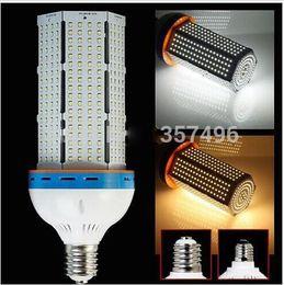 Super Bright Led corn bulb E27 E40 B22 60W 80W 100W 120W Led Corn Light 360 Angle SMD 2835 Led lamp lighting For Streetlight 100-300V By DHL