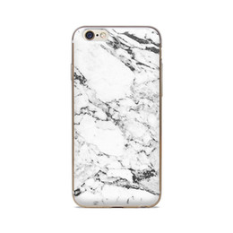 Wholesale For iPhone S S C S Plus Of White Marble Grain Of Skin TPU Silicone Gel Protective Cover