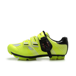 Wholesale 2016 New MODEL Bicycle Racing Sports mountain Cycling Shoes for men woman Breathable Athletic MTB Bike Auto lock Shoes