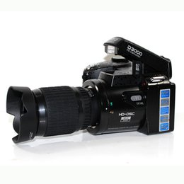 Wholesale HDV D3000 Digital SLR Camera inch LTPS Display X Optical Zoom Cmos Sensor HDMI Output HD videco Camera