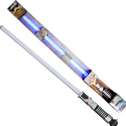 Wholesale Zorn Star Wars Obi Wan Kenobi Yoda Ultimate FX Anakin to Darth Vader Lightsaber Toy for Children LED toy Flash Sword monochrome Sound