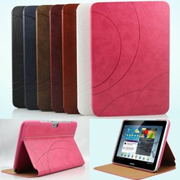 Wholesale Ultrathin Pressure Change Pattern Business Leather Case for Samsung Galaxy Note Stand Smart Cover for Samsung N8000 N8010