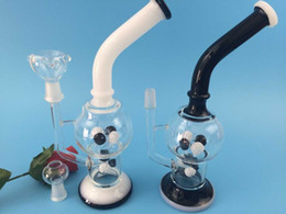 Glass pipe factory price glass bubbler middle ball glass water pipe glass smoking pipe free shipping