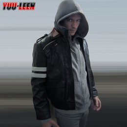 Wholesale Fall PROTOTYPE Alex Mercer Mens Fashion Plus size Sport hoody Sweat shirt For Men Um moleton Hoodie Cosplay costume Freeshipping