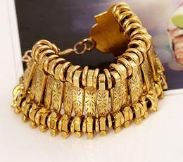 Fashion Punk Style Metal Vintage Bracelets & Bangles Punk Rock Bracelets For Women Bijoux One Direction Charm Bracelet