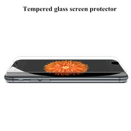 For Iphone 7 Iphone 6s Tempered Glass Screen Protector Film Galaxy S6 Iphone 6S Plus 0.26mm Treated Glass for iPhone 5 Retail box