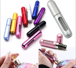 Free shipping-5ml mini empty perfume bottles travel perfume atomizer spray bottle