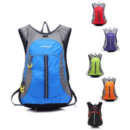 Wholesale Outdoor Hiking Climbing Bicycle Backpack Hydration System Water Bag Pouch Sport Survival Cycling Rucksacks Backpack Bladder L Y0360