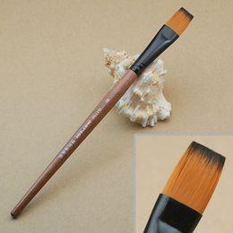 2017 sistemas de la pluma de madera -MARTOL al por mayor PLUMAS 12 pinceles de pintura CONJUNTO DE MADERA DE ACEITE económico sistemas de la pluma de madera