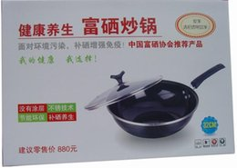 Wholesale 10pcs Se enriched pot promotional gift business gift healthy wok set quality gift