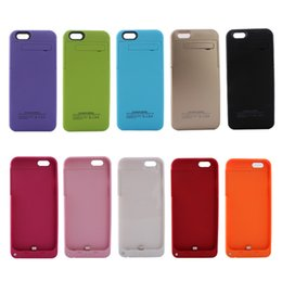 Wholesale External Mah or Mah Battery Power Bank Power case ABS PC CASES for iPhone S C Plus