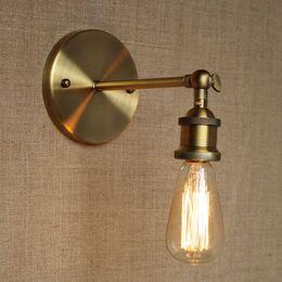 Brass Wall Light Sconce Edison Vintage Lamp Industrial Retro NEW