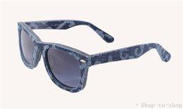 Gafas de diseño fresco en venta-Top Nuevas gafas de sol de diseñador fresco para hombre Gafas de sol polarizadas de las mujeres del dril de algodón del estilo del verano ELIMINACIÓN Acetato Glasses