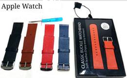 2017 bracelet en cuir véritable IWatch Bracelet Bracelet Bracelet Montre Apple Bracelet Classique Bracelet Bracelet Bracelet Homme 38mm 42mm For Apple Watch Livraison gratuite promotion bracelet en cuir véritable