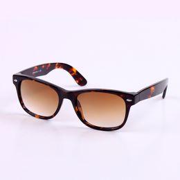 Wholesale Men s Sunglasses For women Tortoise Frame Hot Sales B15 Brown uv400 Brand Glasses Retro Vintage Outdoor Driving Gradient Ramp Eyewear