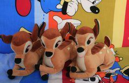 Wholesale cm bambi deer plush stuffed toys for children action figure plush dolls kids toys gift kawaii
