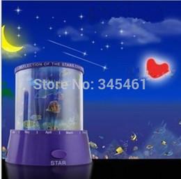 Wholesale New Amazing Ocean Cupic Heart Sky Star Master Mini Night Light Decorate Lover children friends dream bedroom Star Projector Lamp