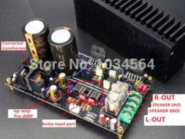 Wholesale Details about LM3886 amplifier assembled board full DC servo independence op amp preamp HIFI hifi speaker hifi amplifier