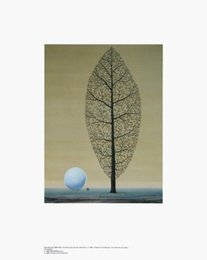 Wholesale Beautiful abstract art oil painting by Rene Magritte The Search for the Absolute hand painted High quality