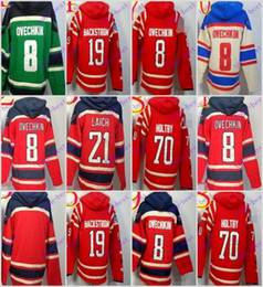 Stitched WCapitals Hoody #8 Ovekhkin 19 Backstrom 70 Holtby hockey Kids men Red Green Cream Jerseys Ice Jersey ,Hoodie Mix Order