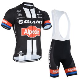 Wholesale Giant cycling clothes Cycling Jersey Cycling Short Sleeve Bicycle Jersey and Cycling Shorts Kit Summer Cycling Clothing