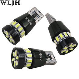 WLJH canbus 12v auto T10 3014 smd w5w led bulbs quality 3014 18 lighting Side Turn Signals Clearance Lights Position Lights