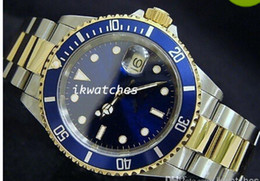 Free shipping hot sale mens luxury watch top brand automatic watch steel gold dive watch 08