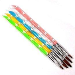Wholesale Essential Acrylic Nail Art Equipment UV Gel Carving Pen Brush Liquid Powder DIY No For Home Office Travel use