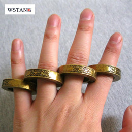 Wholesale WSTANG new portable outdoor ring adornment self defense self defense tool