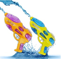 Wholesale Kids Swimming Item - Hot Sale New Children Sand Water Gun Play Toy By Air Pressure Kids' Water Pistols Seaside beach Swimming toys 22*2.9*14cm