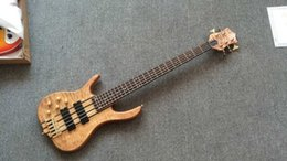 2016 New Arrival + Factory + lefty 5 string Ken Smith bass guitar left handed Ken Smith electric bass with Gold Wilkinson bridge