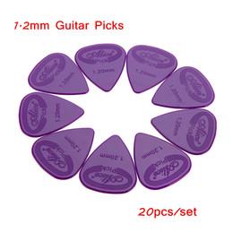 Wholesale 20pcs Acoustic Guitar Picks Plectrums Parts Accessories mm Projecting Nylon Plectrums Guitar Parts Guitar Picks Case I653