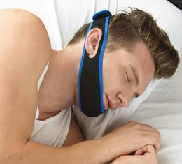 Wholesale Stop Snorin Anti Snore Strap Apparatus with Anti snore Chin Strap X MM Stop Snoring Belt Anti Snoring Chin Jaw Supporter
