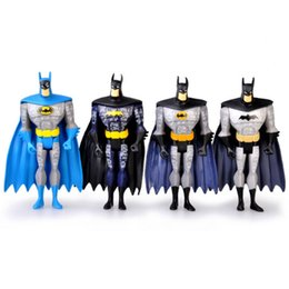 Wholesale 4Pcs set inch cm DC Universe JLU Justice League Unlimited Batman Loose Action Figures Toys