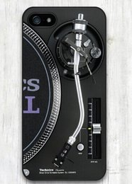 Wholesale New Technics s Turntables DJ good quality TPU Case for iPhone s s c iphone plus Best Durable phone cases