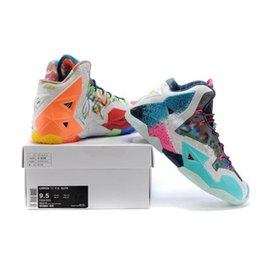 2015 Lebron 11 Basketball Shoes Lebron 11 Mens Shoes Sneaker Shoes Size With the boxes Size US 8-13