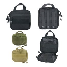 Wholesale ports Travel Pocket Organizer EDC Pouch MOLLE Tactical Waist Packs Tactical Pouch Bag First Aid Medical Bag Case