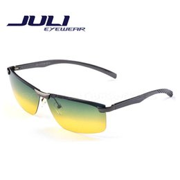 Night Driving Glasses Polaroid Sunglasses Men Polarized Mens Sunglasses Brand Designer Fashion Oculos Coating Sunglass A106-2C