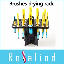 Wholesale Rosalind New Professional mc Makeup Brush Drying cleaning Brushes Tool Kit Beauty