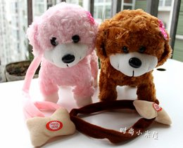 [New arrival] [Hot sale] Rope dog toy Electric plush lovely toy Men Loyal friend type delegate
