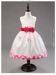 Korean Version Of The Original Single Flower Girl Princess Dress Girl Tutu Dress Children Dress Wedding Show