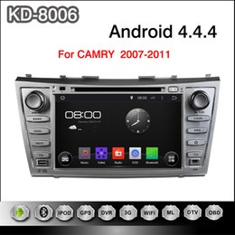 Wholesale Pure Android inch Capacitive Touchscreen Car DVD Player For Toyota CAMRY