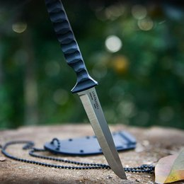 Cold steel tanto samurai sword fixed blade knives 7cr14mov 57HRC straight knife outdoor camping hiking survival dagger