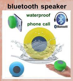 BTS-06 waterproof wireless bluetooth speaker waterproof shower speaker wireless car subwoofer with handsfree function dhl free ship MIS035