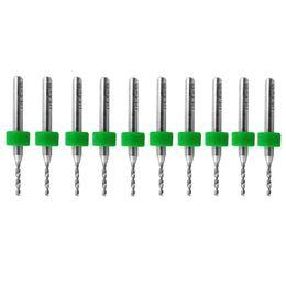Wholesale 10Pcs PCB Print Circuit Board Carbide Micro Drill Bits Tool mm New VE621 W0 SUP5