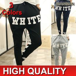Wholesale-Baggy Pants Hip Hop Dance Sweatpants Drop Crotch Pant Men Parkour Sport Trousers S331